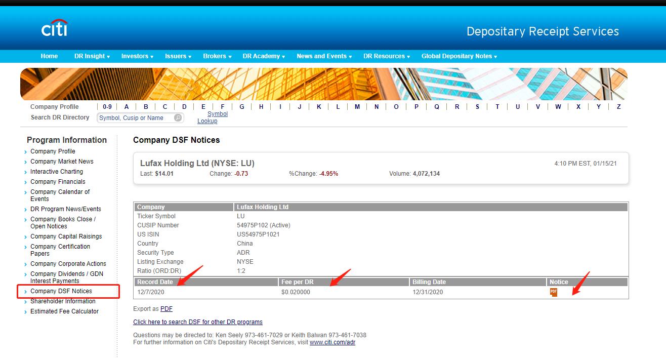 美国存托凭证(ADR)托管费用 – 美股市场 – 富途证券插图5